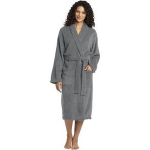 Port Authority® Plush Microfleece Shawl Collar Robe
