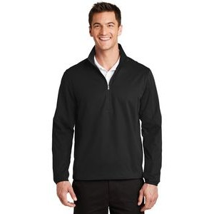 Port Authority® Active 1/2 Zip Soft Shell Jacket
