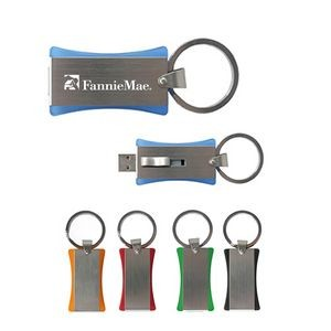 2GB USB Flash Drive Keychain
